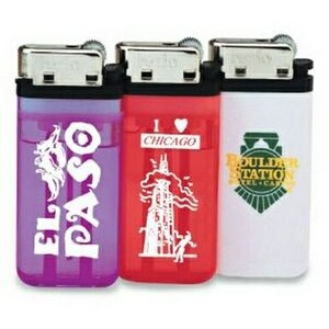 Wide Disposable Butane Lighter