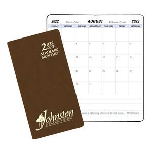 Academic Monthly Pocket Planner w/ Canyon Cover