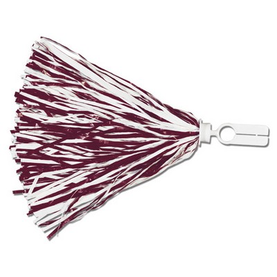 500 Strand Vinyl Pom Poms w/ Split Ring Handle (Unimprinted)
