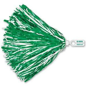 750 Strand Vinyl Pom Poms w/ Split Ring Handle (Imprinted)